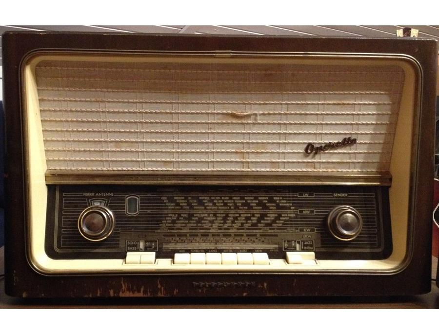 Telefunken Operette 8 Tube Radio 1957/58