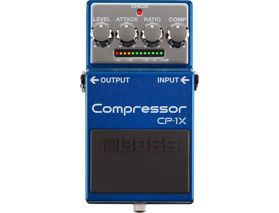 Boss cp 1x compressor effects pedal xl