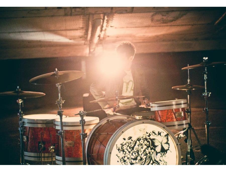SJC Custom Drum Kit - Elliot James Artist Kit