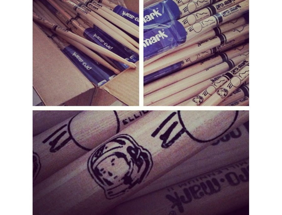 Promark 7xb custom elliot james drum stick xl