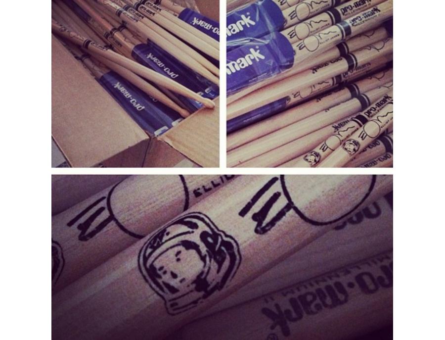 Promark 7XB - Custom Elliot James Drum Stick