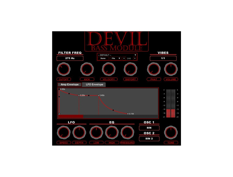 Devil bass module xl