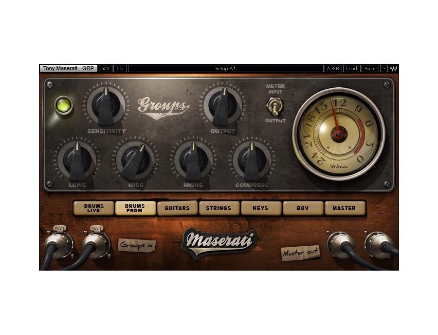 Waves Maserati VX1 Vocal Plugin