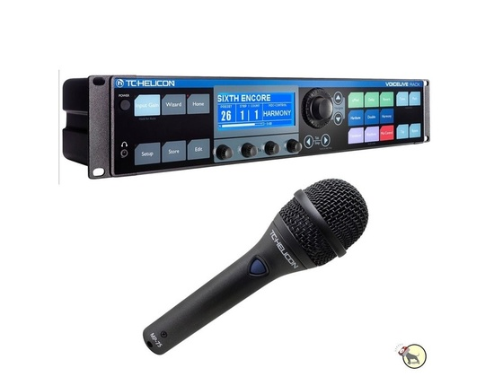 TC Electronic Helicon Voicelive Rack