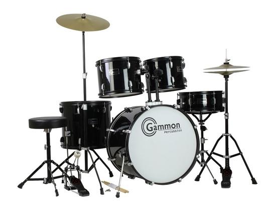Gammon Percussion 5 Piece Drum Set