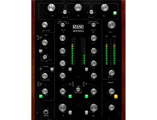 Rane MP2014 2-Channel Rotary DJ Mixer