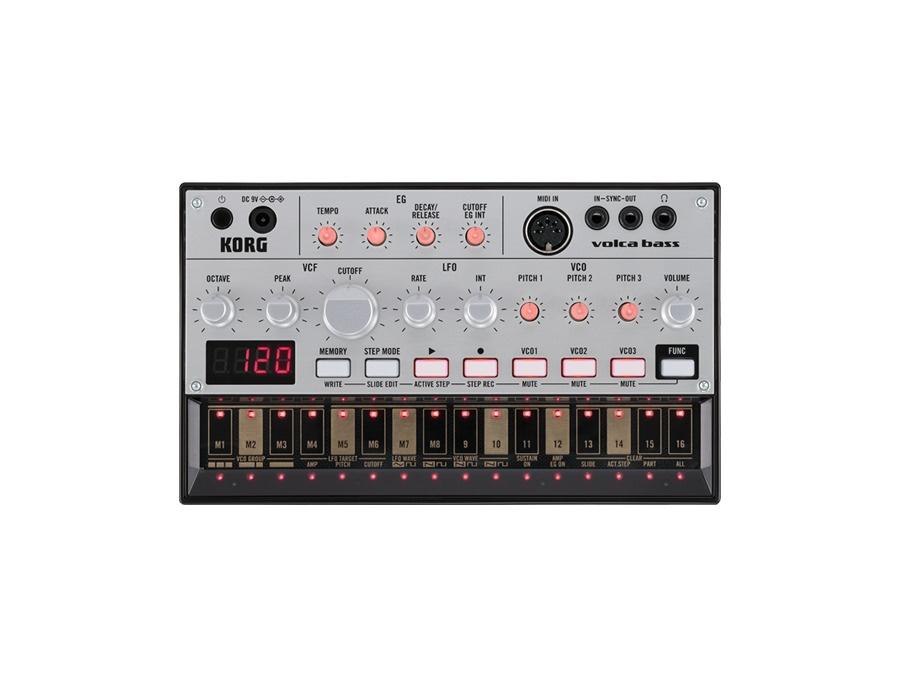 Korg volca bass analogue bass machine xl