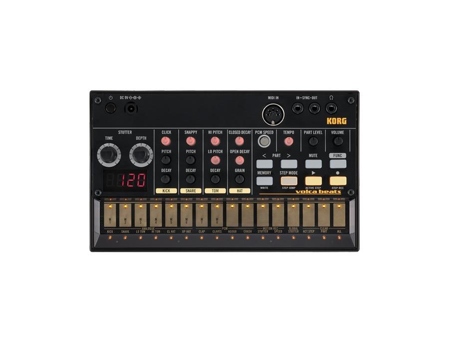 Korg volca beats analogue rhythm machine xl