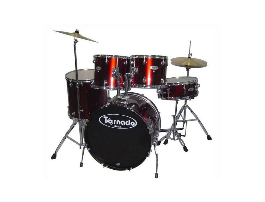 Tornado by mapex 5 pc drum set xl