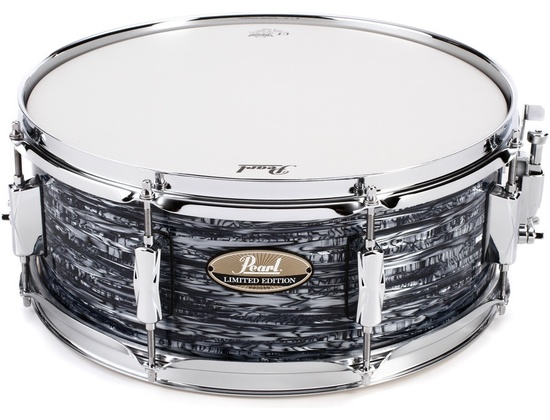 Pearl Limited Edition Black Strata Snare Drum 14x5.5
