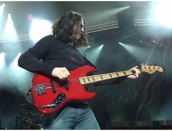 Crimson Red Fender Custom Shop Jazz Bass