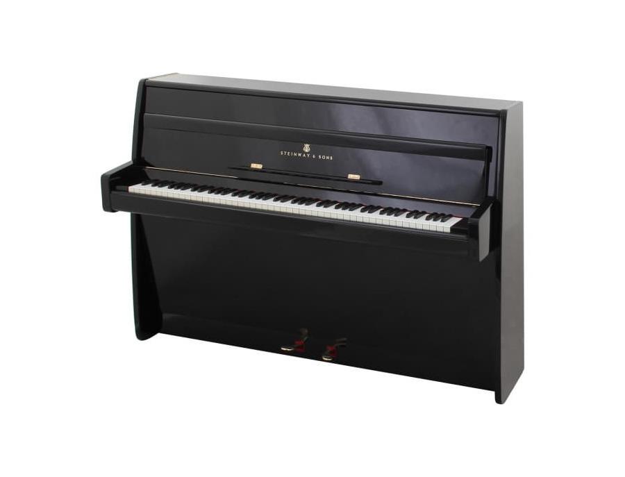 Steinway F Upright Piano
