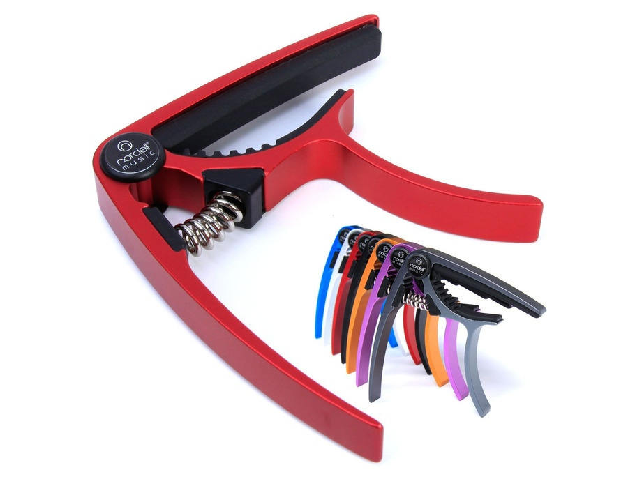 Nordell 'Pro Trigger' Guitar Capo Red