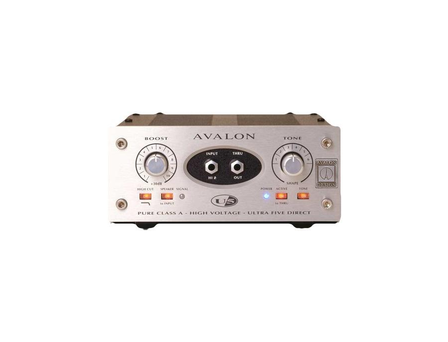 Avalon u5 di preamplifier xl