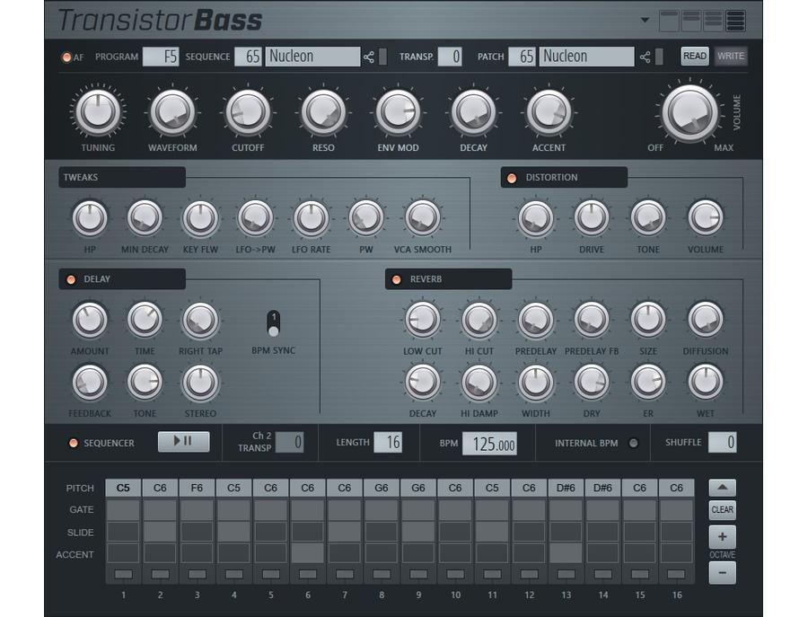 image line Transistor Bass