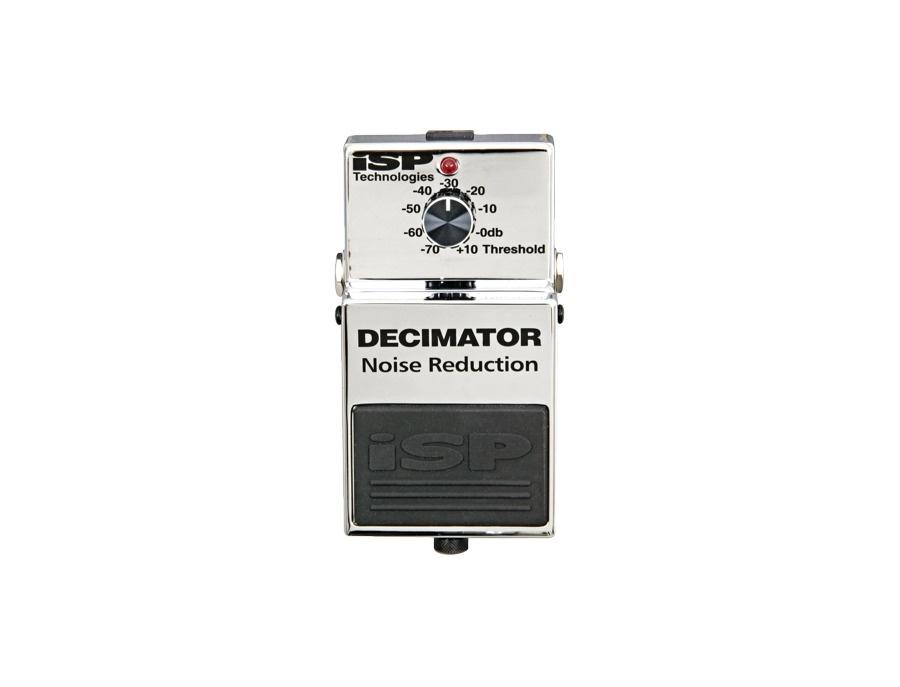 Isp technologies decimator noise reduction pedal xl