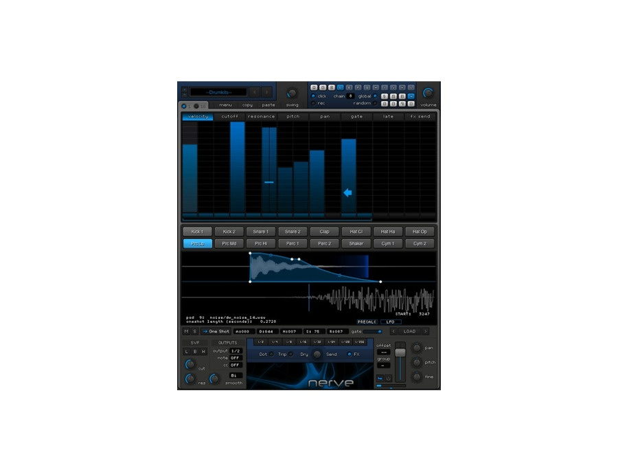 Xfer nerve drum machine plugin xl