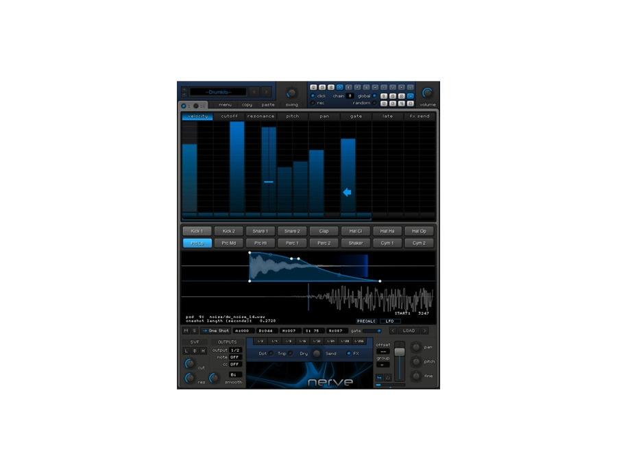 Xfer Nerve Drum Machine Plugin