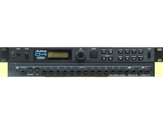 Alesis D4 Drum and Percussion Sound Module