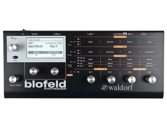 Waldorf Blofeld Desktop Black