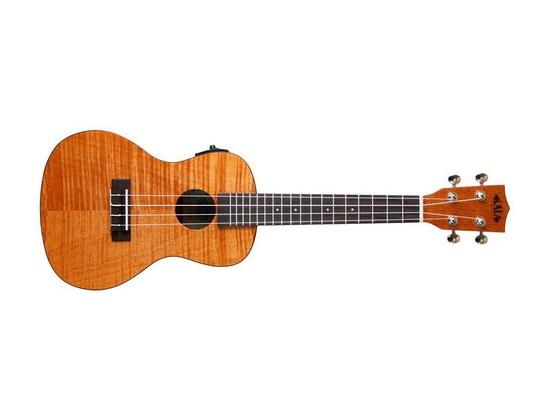 Kala KA-CEME Exotic Mahogany Concert Acoustic-Electric Ukulele