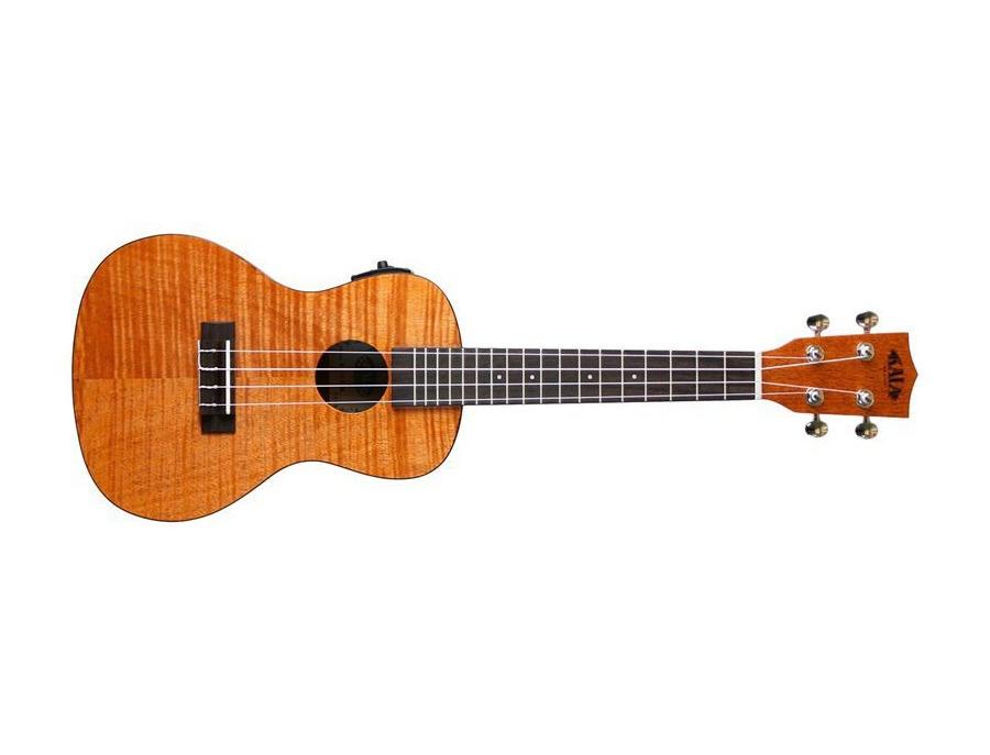 Kala ka ceme exotic mahogany concert acoustic electric ukulele xl