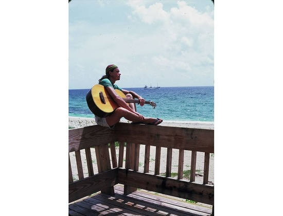 1974 Larry Breslin Acoustic Bass Guitar