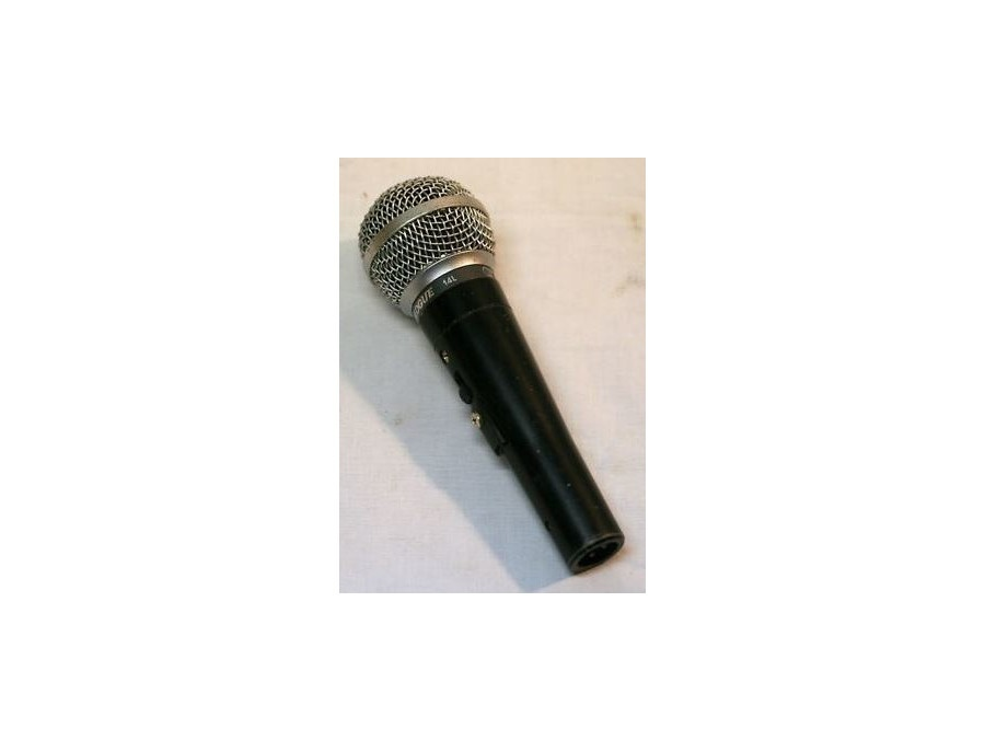 Shure prologue 14l low impedence dynamic microphone xl