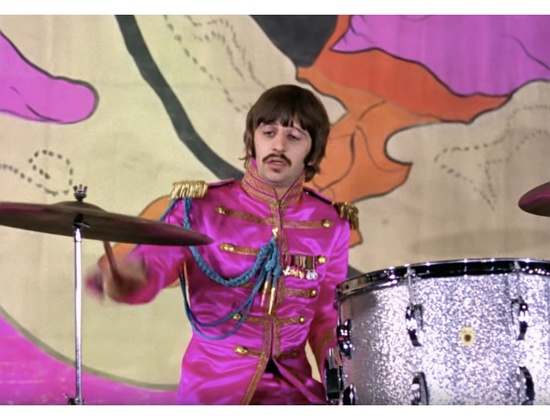 "The Beatles ""Hello Goodbye"" Promo Video Drum Kit"