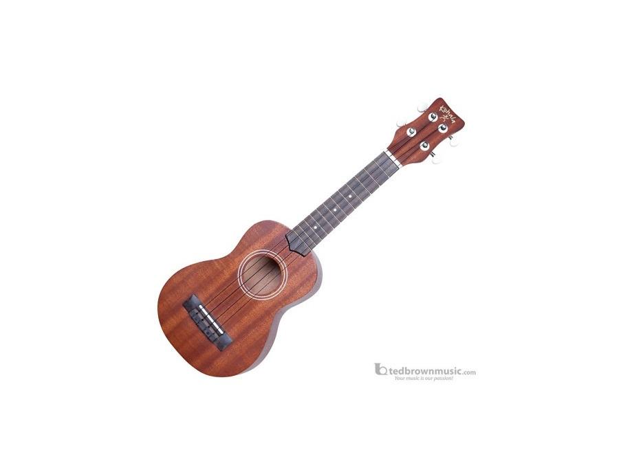 Kohala model kogs kine o soprano size ukulele xl