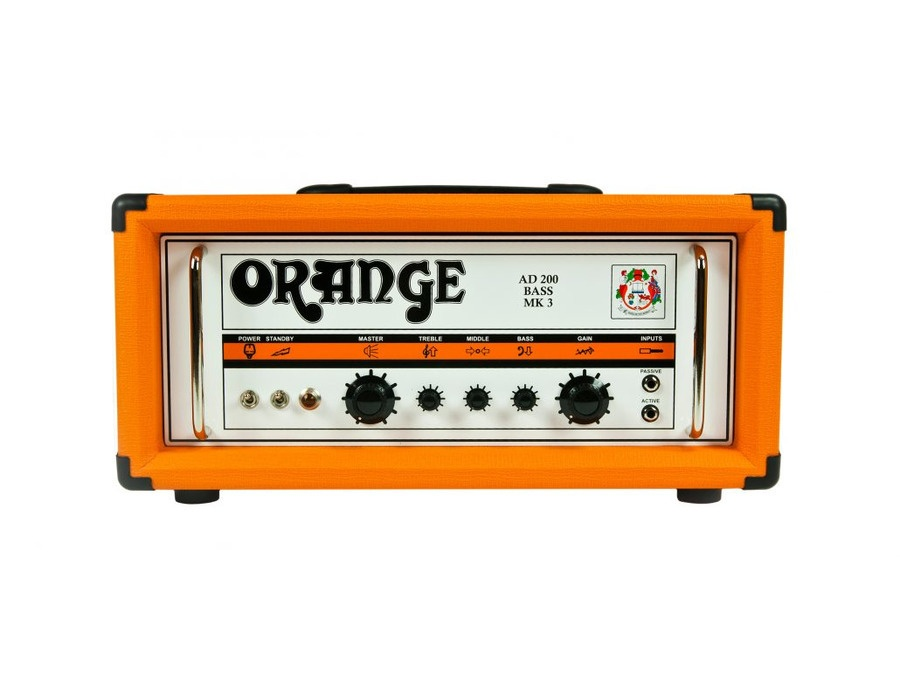 Orange ad200 mk3 200 watt bass head xl
