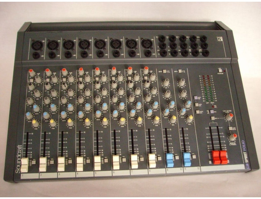 Soundcraft spirit folio 12 2 mixer xl