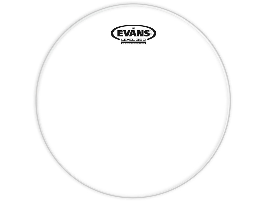 Evans g1 clear batter drum head xl
