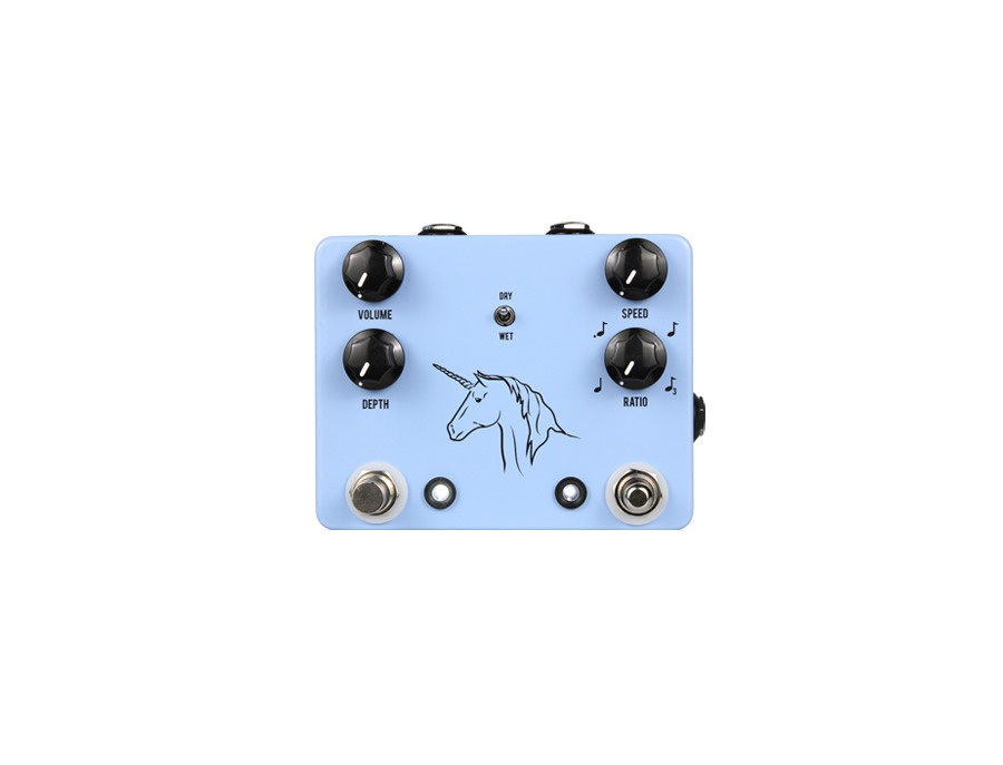 Jhs unicorn uni vibe photocell modulator w tap tempo xl