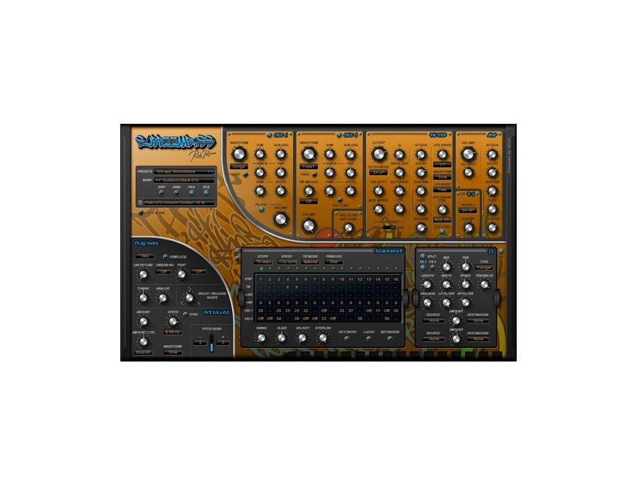 Rob Papen SubBoomBass Software Synthesizer