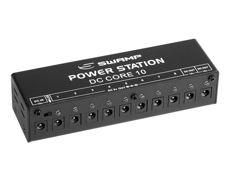 Swamp DC CORE 10 Guitar Effect Pedal power supply station
