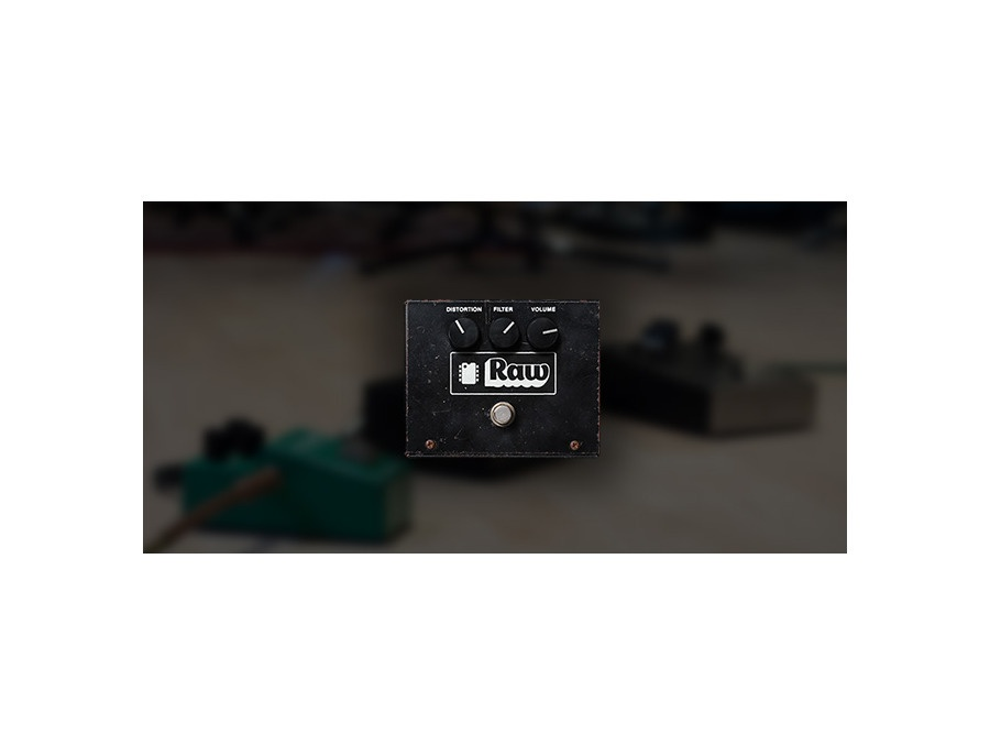 Universal audio raw distortion xl