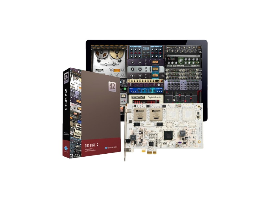 Universal Audio UAD-2 DUO Core PCIe DSP Accelerator Package