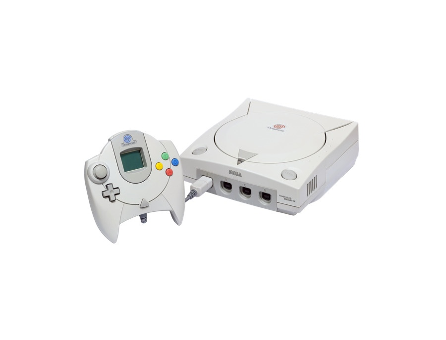 Sega Dreamcast Console