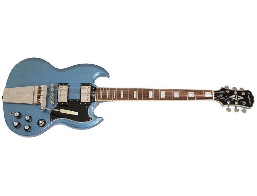 Epiphone Sg Les Paul Custom Pelham Blue With Mastero Reviews