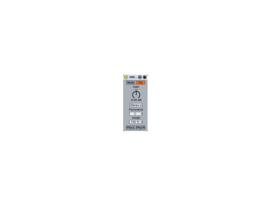 Ableton utility plugin xl