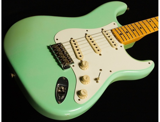 Fender Stratocaster , surf green