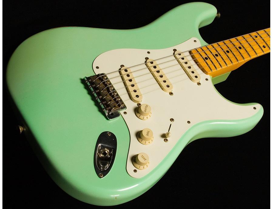 Fender Stratocaster , surf green