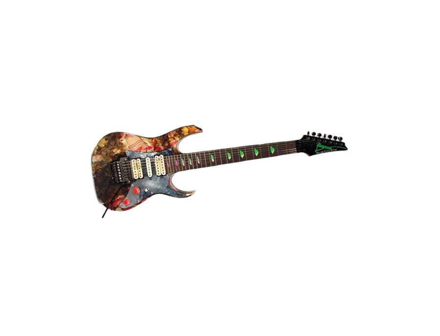 Ibanez Universe Burned Seven-String Electric Guitar