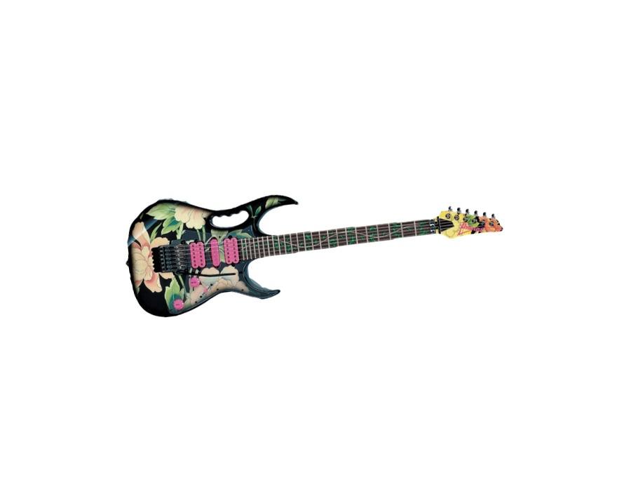 ibanez jem steve vai 77fp floral fabric print electric guitar reviews prices equipboard. Black Bedroom Furniture Sets. Home Design Ideas