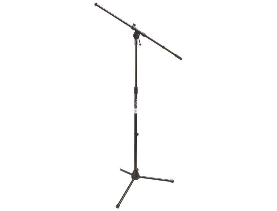 On stage stands ms7701b tripod boom microphone stand xl
