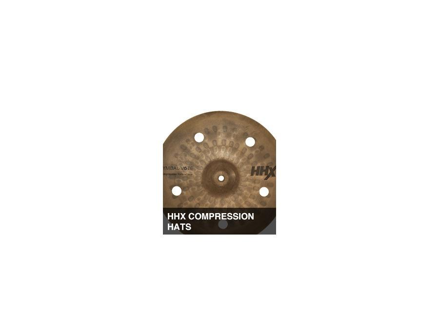 Sabian hhx compression hats xl