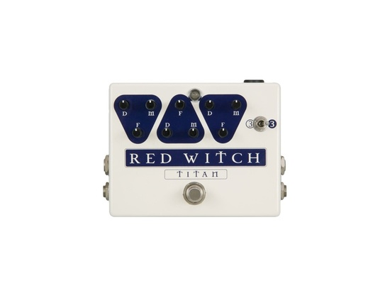 Red Witch Titan Delay Guitar Effects Pedal