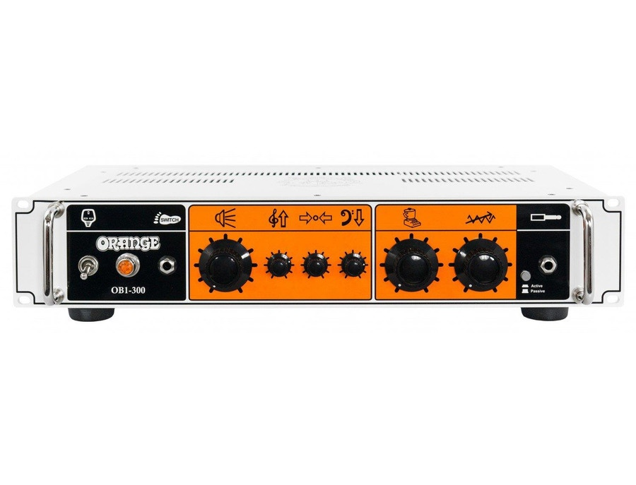 Orange ob1 300 300 watt single channel solid state bass head xl