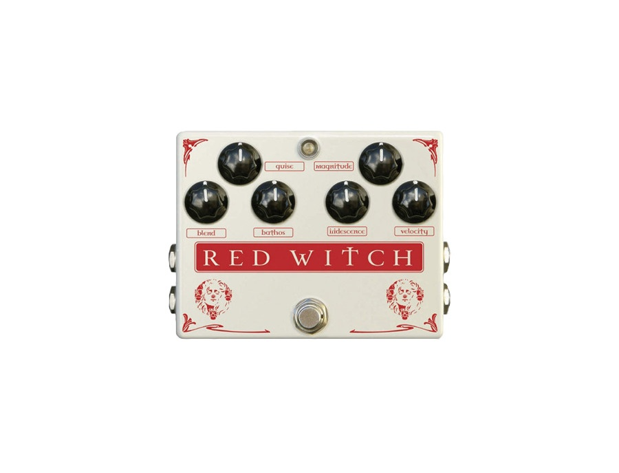 Red Witch Medusa Chorus and Tremolo Pedal